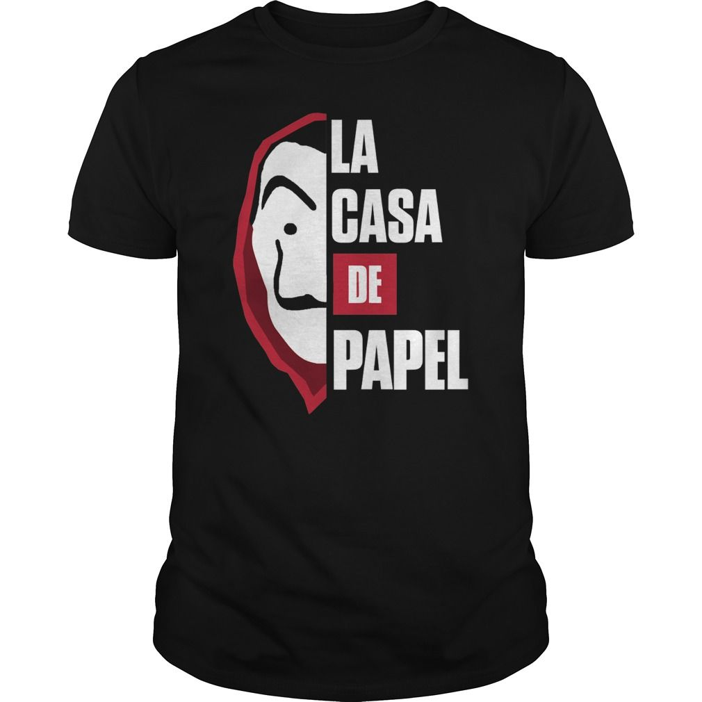 La Casa De Papel T Shirt Teeshirt21 Custom Shirts La Shopping Custom Made
