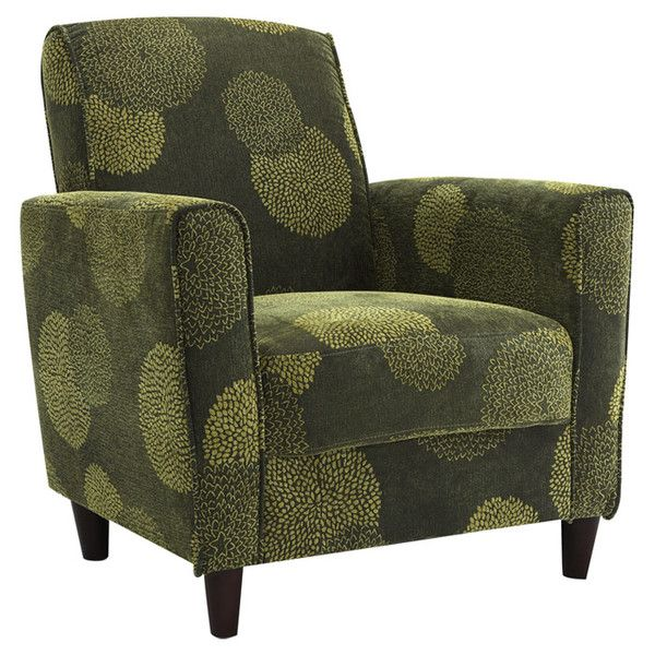 New Dhi Enzo Contemporary Style Accent Arm Chair Iii Green: DHI Enzo Sunflower Arm Chair & Reviews