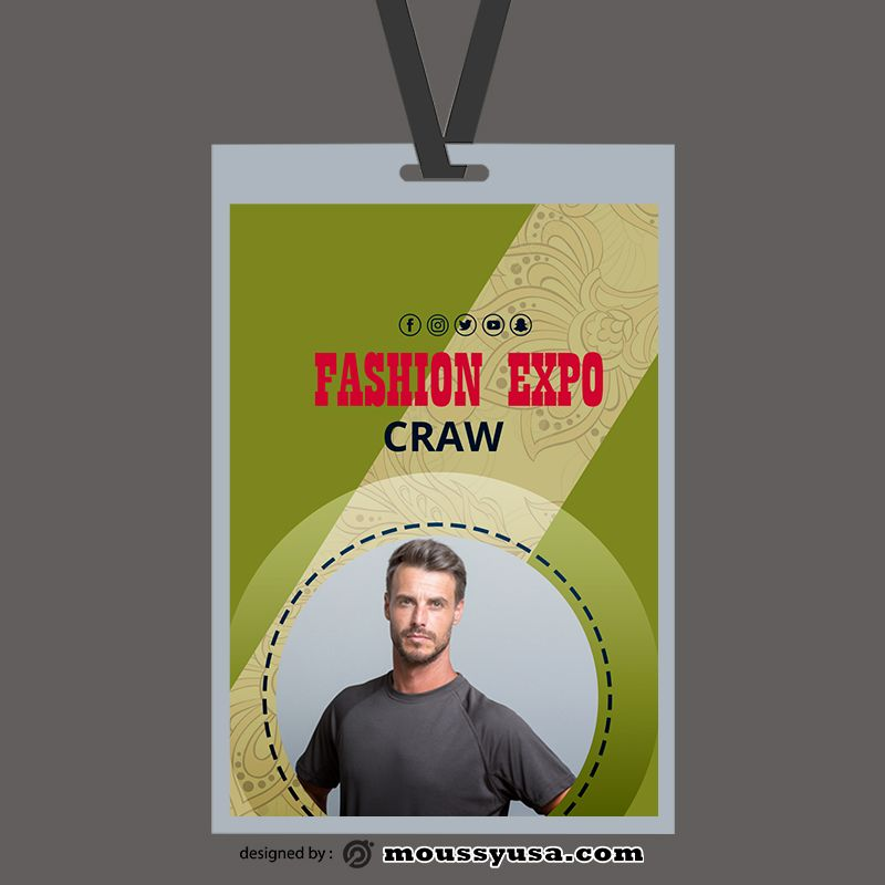 3 Event Id Card Free Psd Template Event Id Id Card Template Cards