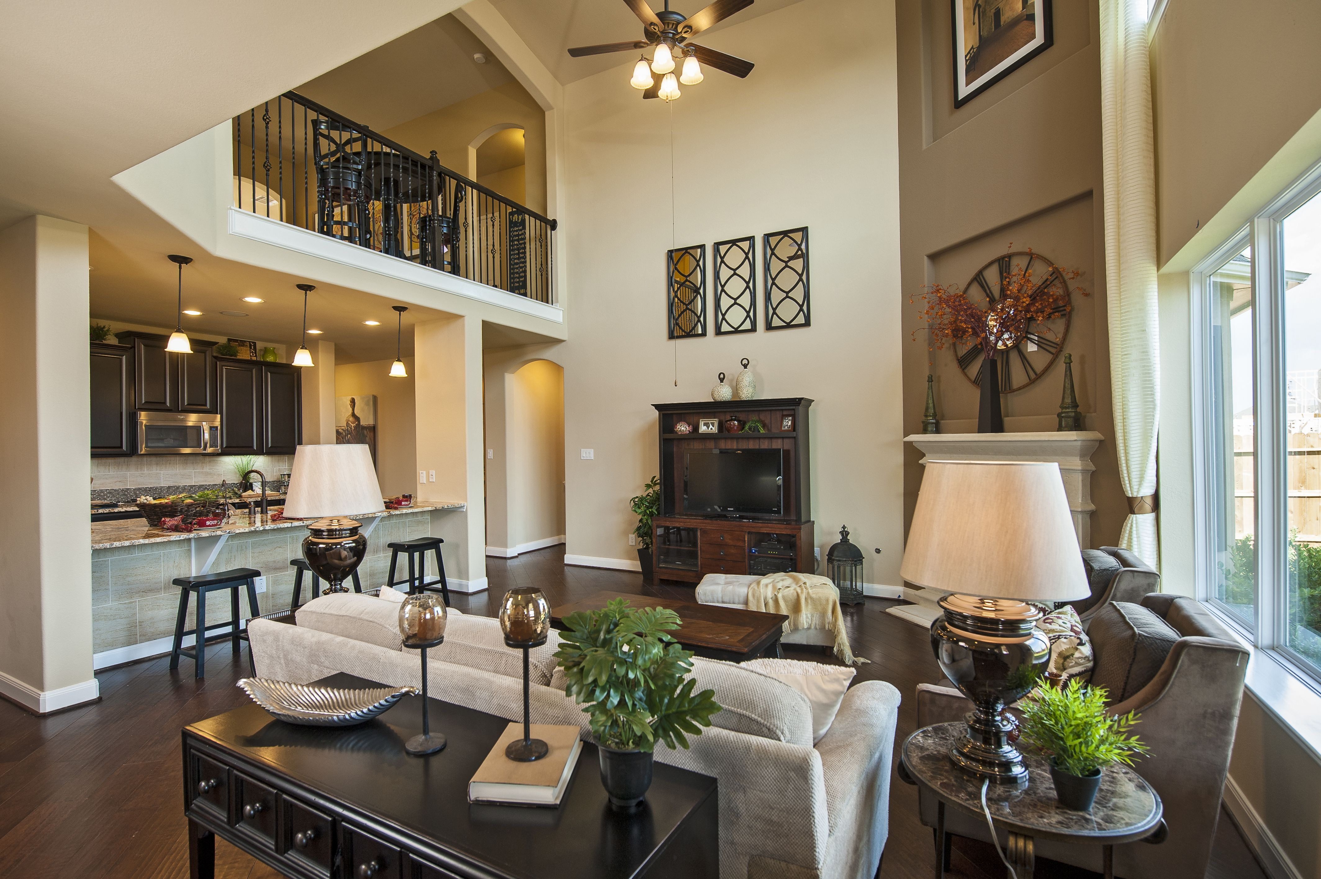 Homeowners will love this open floor plan at riverstone