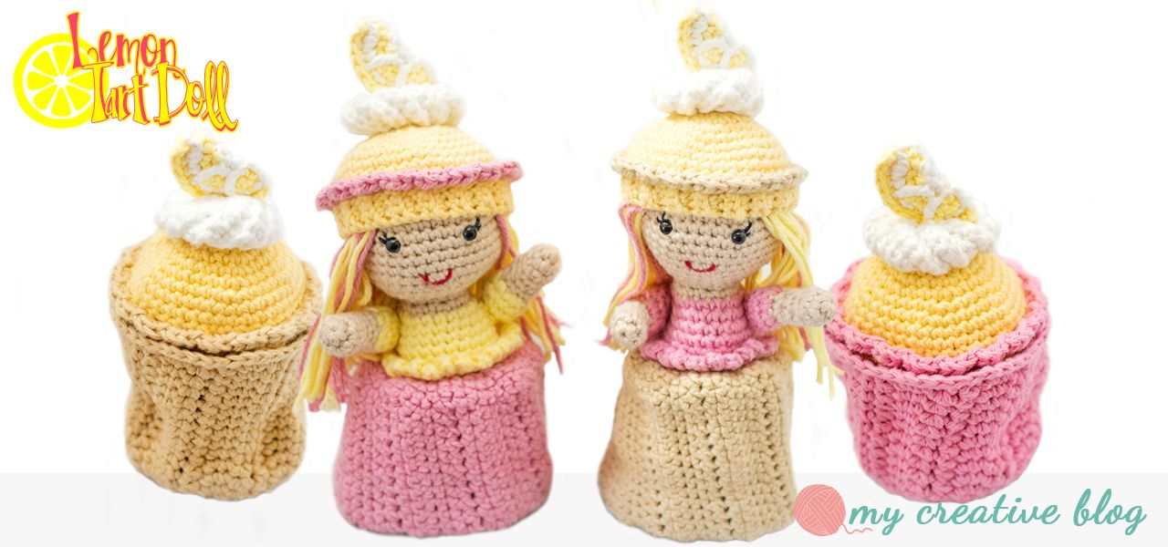 Lemon Tart Cupcake Doll Crochet Pattern I Was Contacted By The