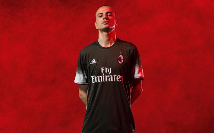 Lataa kuva Luca Antonelli, 4k, Milan, Italia, Italian jalkapalloilija, Serie, jalkapallo