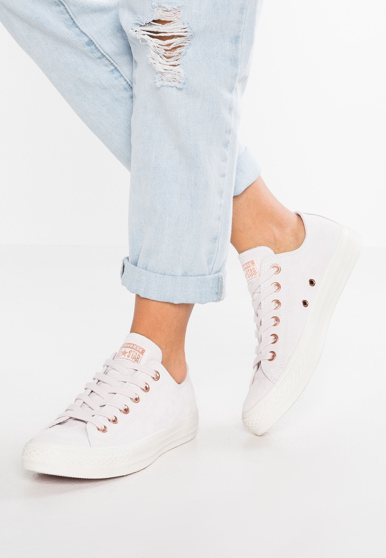 Converse CHUCK TAYLOR ALL STAR - Sneakersy niskie - pale ...