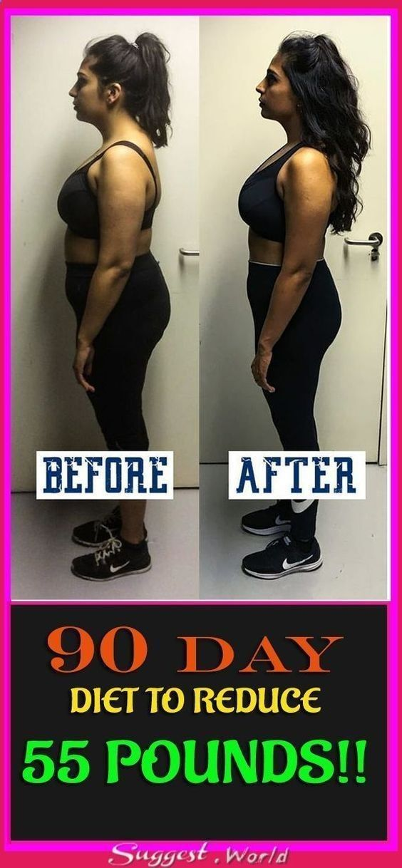 90 DAY DIET TO REDUCE 55 POUNDS!! #beautytips #fitness