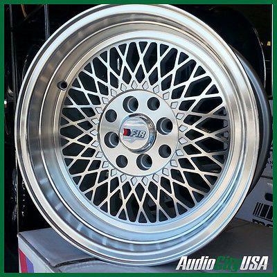 F1R wheel F01 15x8 4x100/114 3 25 MACHINE FIT MITSUBISHI