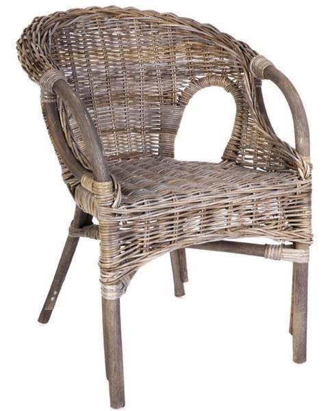 Zara Rattan Chair Kubu Grey or White Wash – Allissias Attic