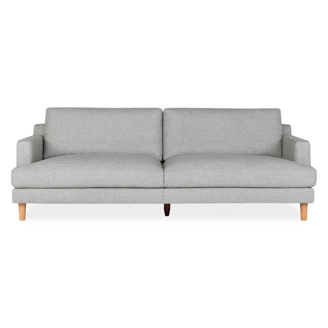Thea 3 Seat Sofa Size W 229cm X D 99cm X H 84cm In Light Grey Freedom Sofa Modular Couch Fabric Sofa