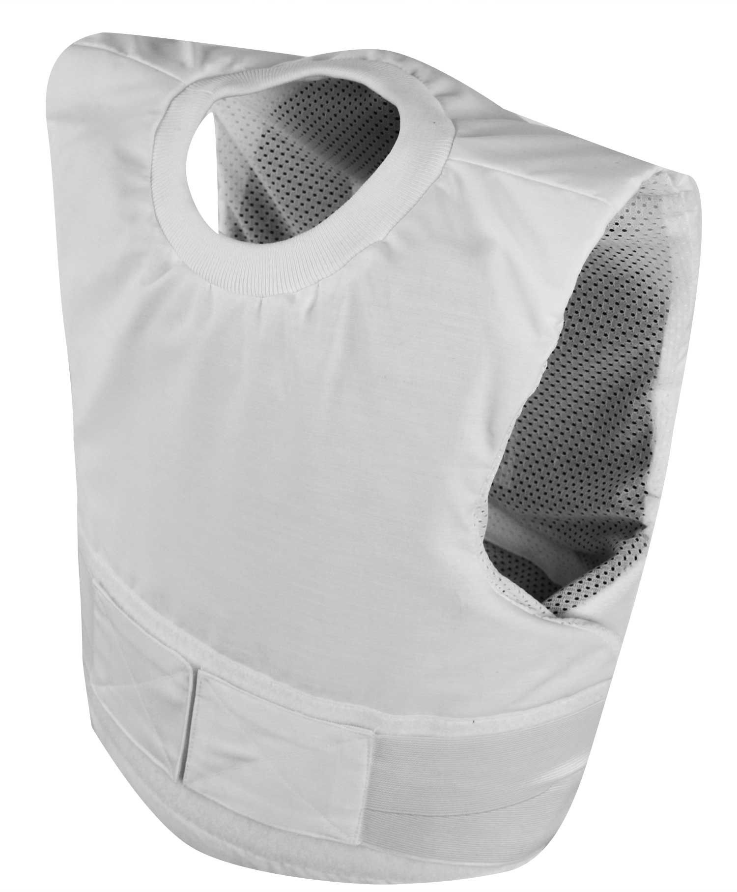 Armor Corr Concealable Stabiiia Vest New Kevlar Bullet >> Coolmax White Ballistic Level 3a Stab Level 2 Spike Level 2