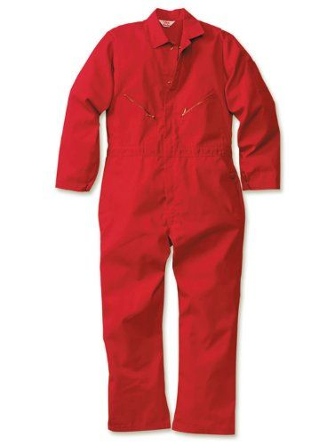 walls men s cotton twill coveralls red on amazon com red on walls coveralls id=32719