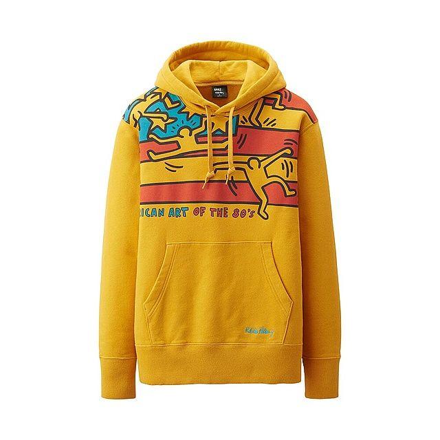 MEN SPRZ NY Sweat Pullover Hoodie (Keith Haring)-UNIQLOUKOnlinefashionstore £15