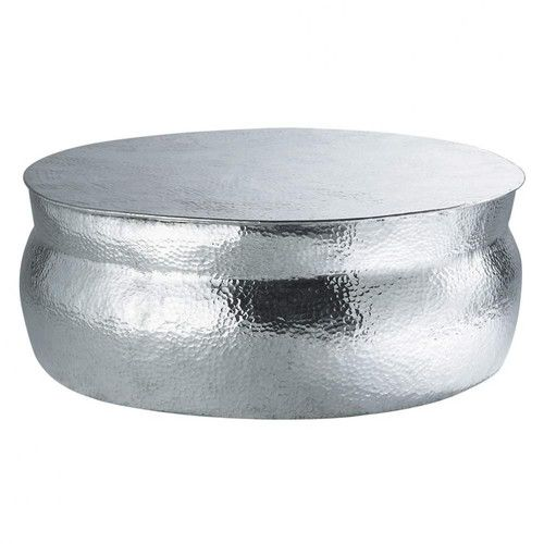Table Basse Ronde En Aluminium D  Cm