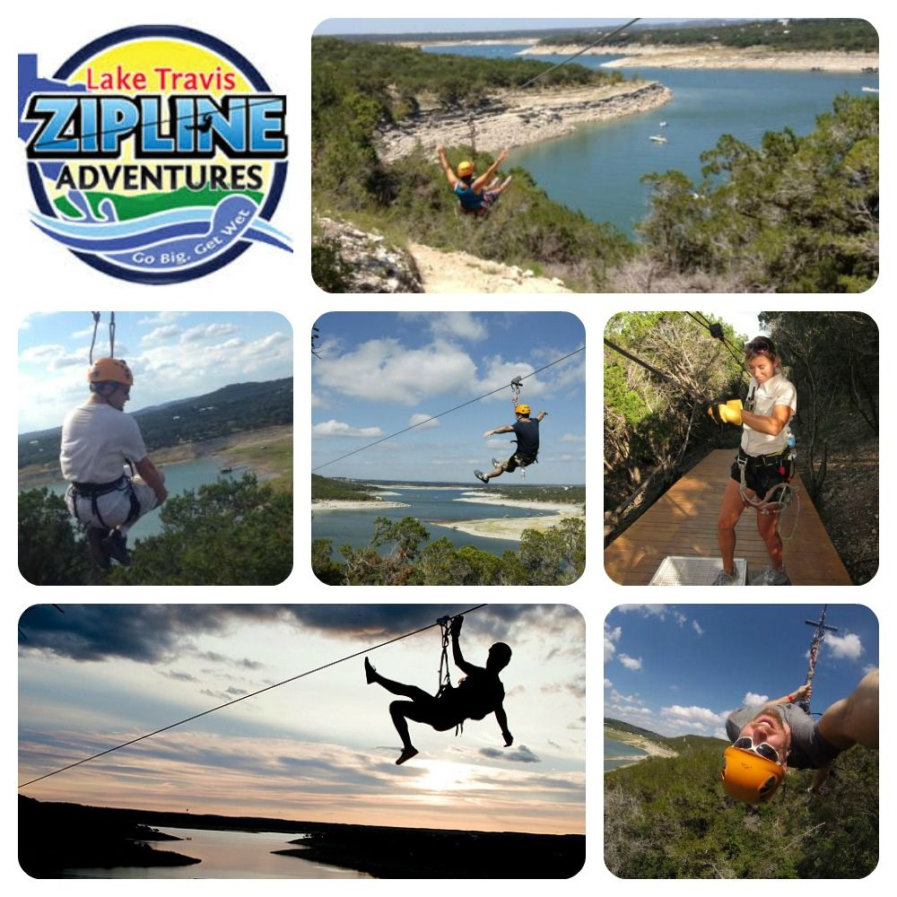Favorite Fall Activities #5: Get a bird's eye view of Lake Travis at Lake Travis Zipline Adventures.  Fall is a great time to zipline because the weather is just about as perfect as it gets in Austin!