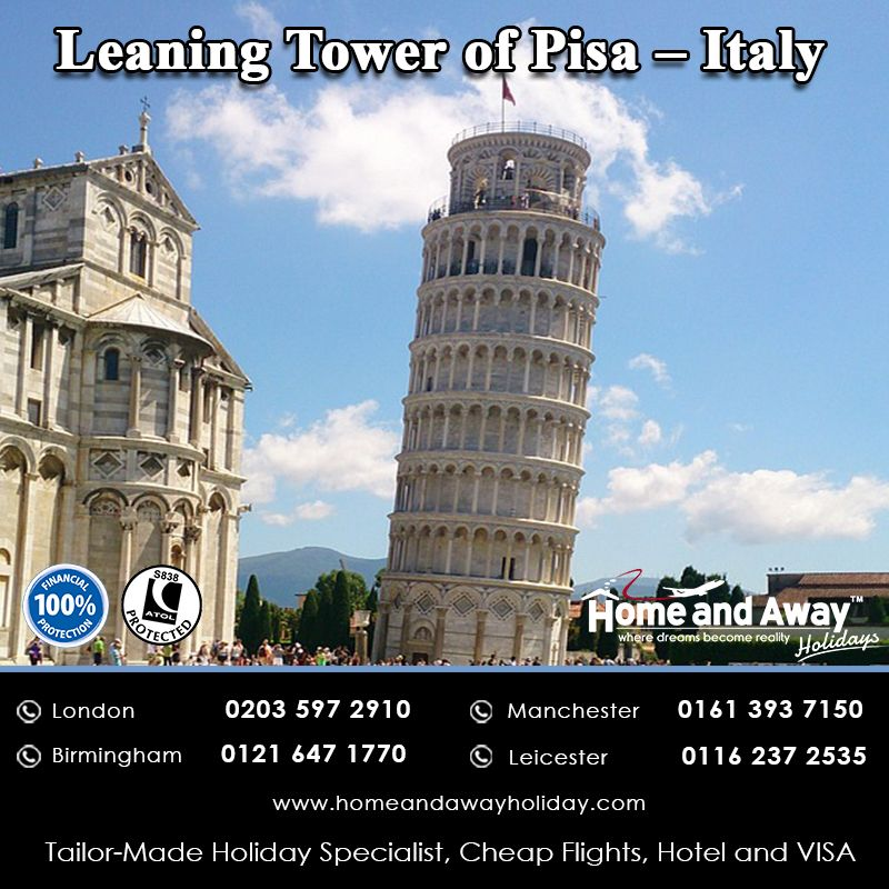 The Leaning Tower of Pisa is one of the most remarkable ...