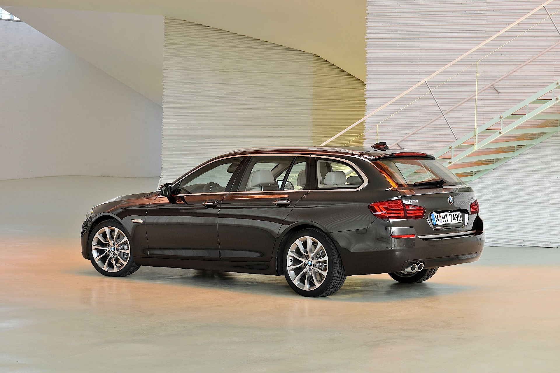 BMW 5 Series Touring Automotive Pinterest