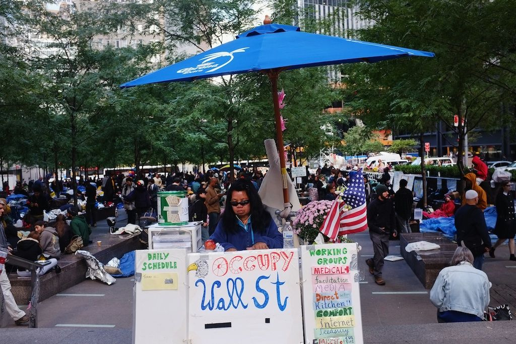 in pictures occupy wall street s first weeks in on wall street english id=39796