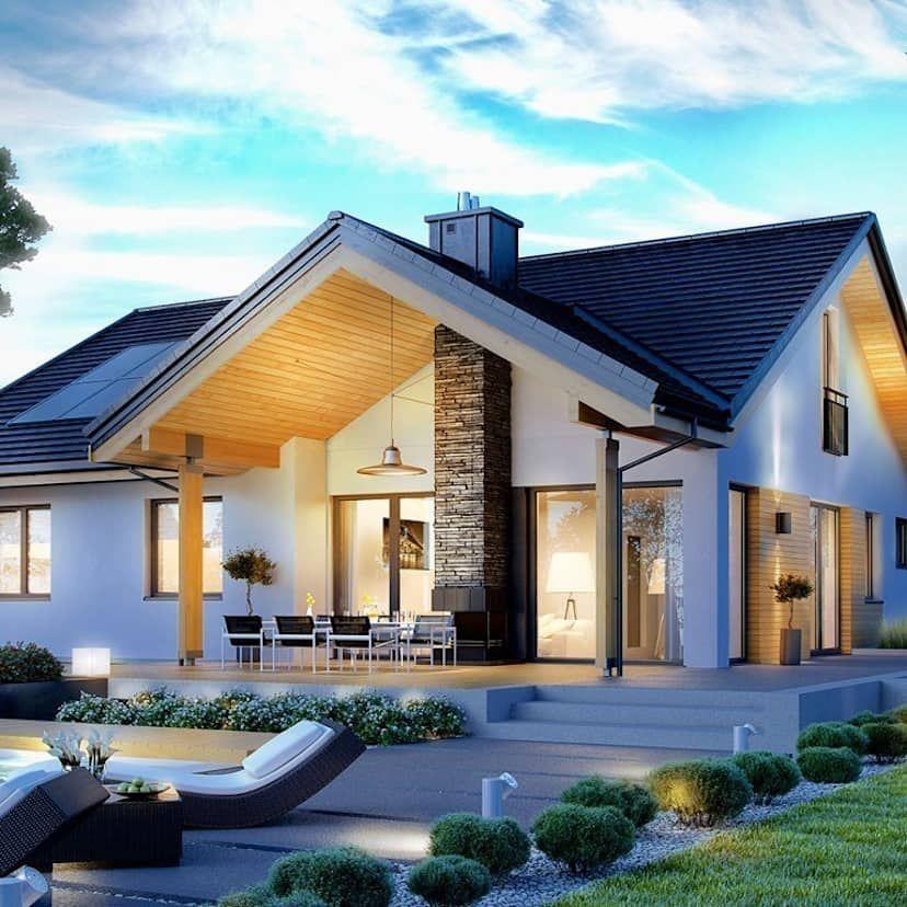 Ein Einfamilienhaus Das Alles Hat Esterno Arquitetura E