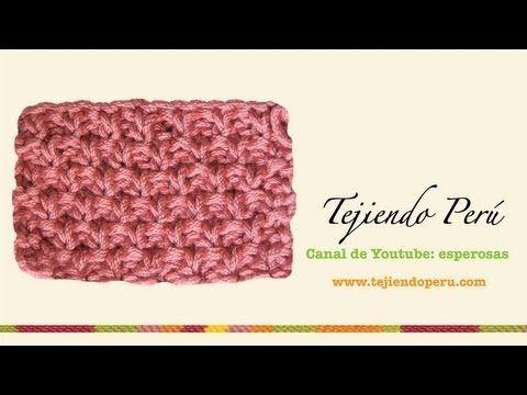 Boina floja o caida en dos agujas (Slouchy knit beret) Parte 2 - YouTube