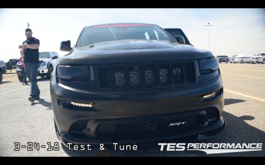 Video New Wk2 Jeep Srt 1 4 Mile Record Srt Jeep Srt Jeep