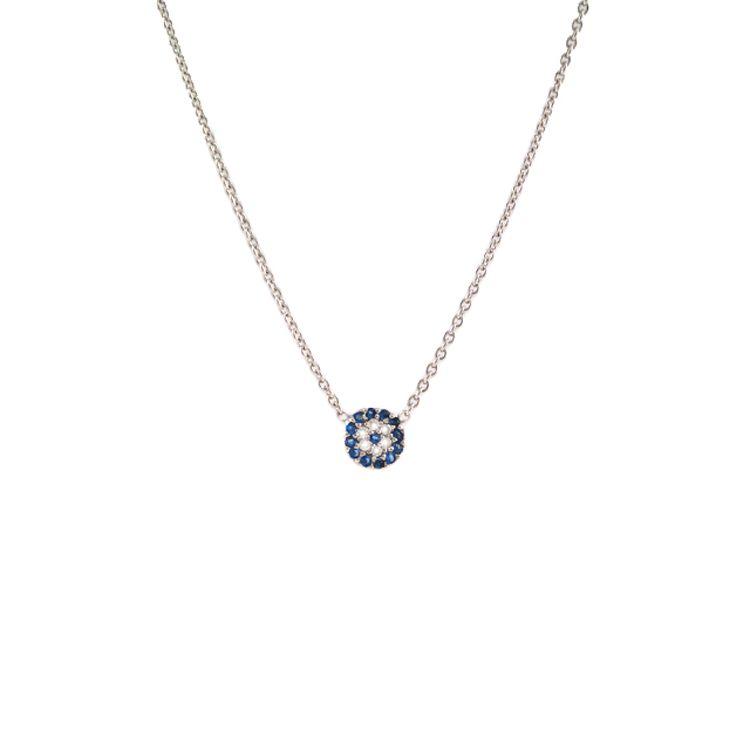 Mini Evil Eye Necklace