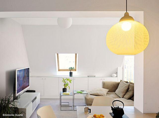 comment d corer un petit appartement sans l encombrer elle d coration pinterest salons. Black Bedroom Furniture Sets. Home Design Ideas
