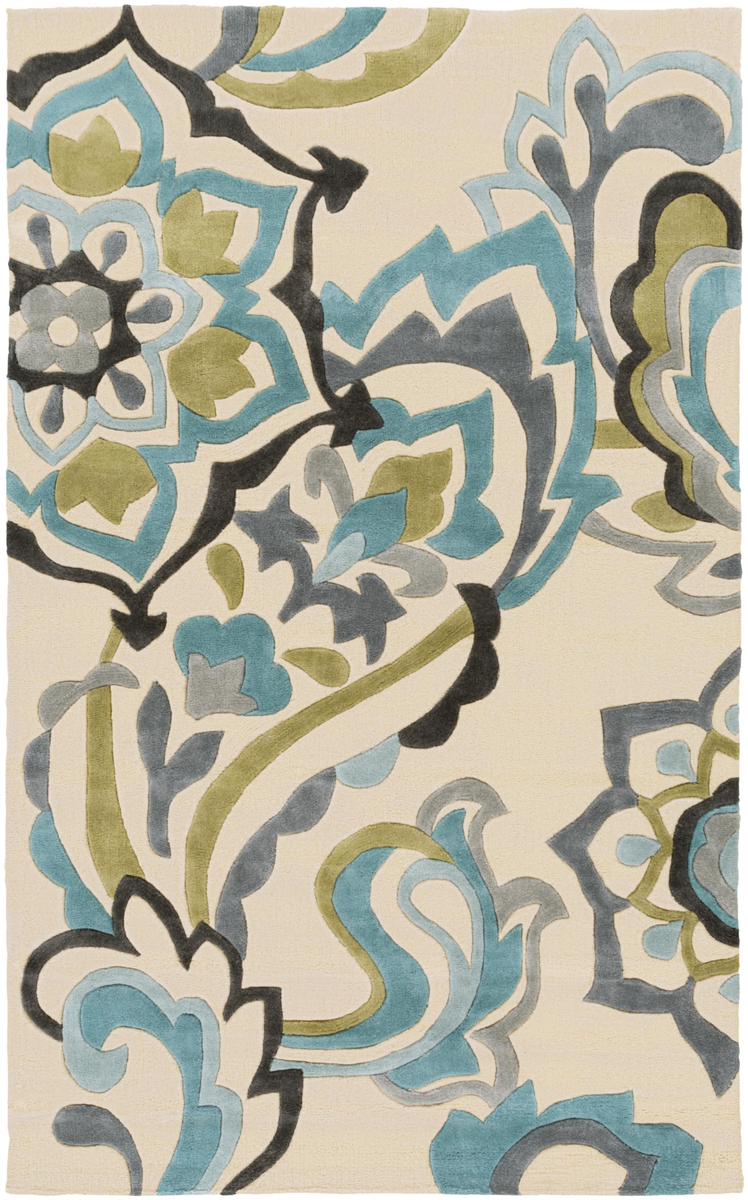 """Cosmopolitan 3'6"""" x 5'6"""" by Surya Rugs, Area rugs"""