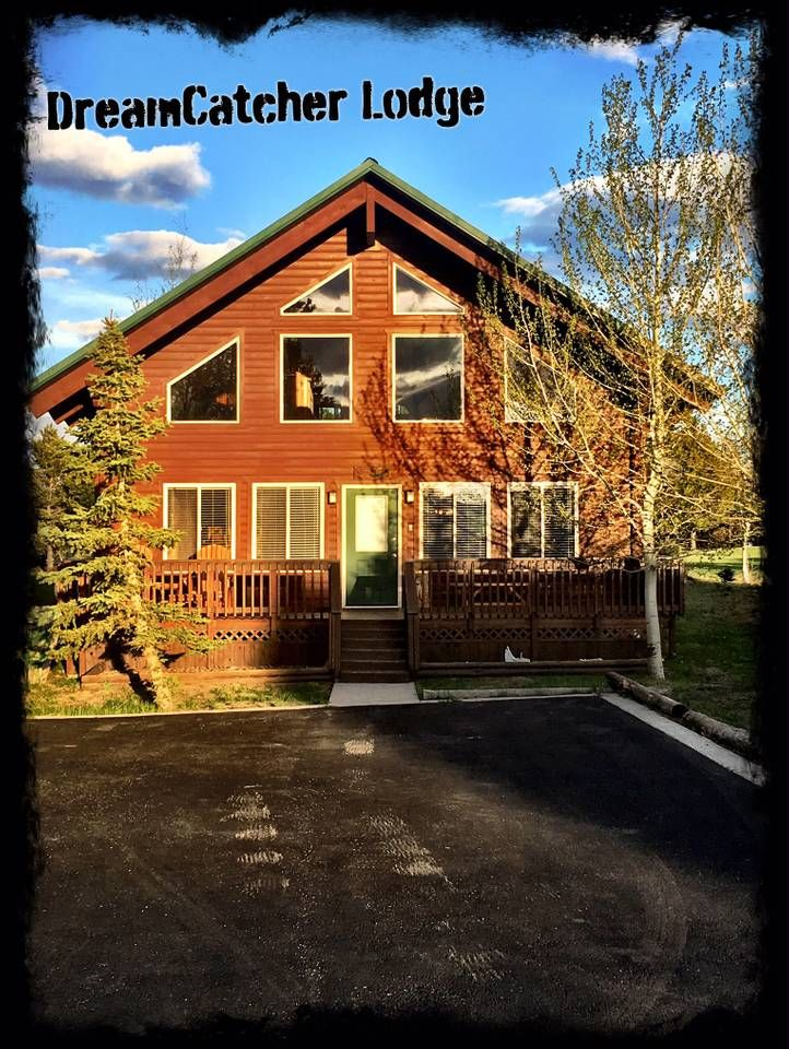 Dreamcatcher lodge houses for rent in island park idaho