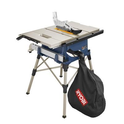 Ryobi Ryobi 10 Inch Portable Table Saw Rts20 Home Depot Canada Portable Table Saw Table Saw Table Saw Jigs