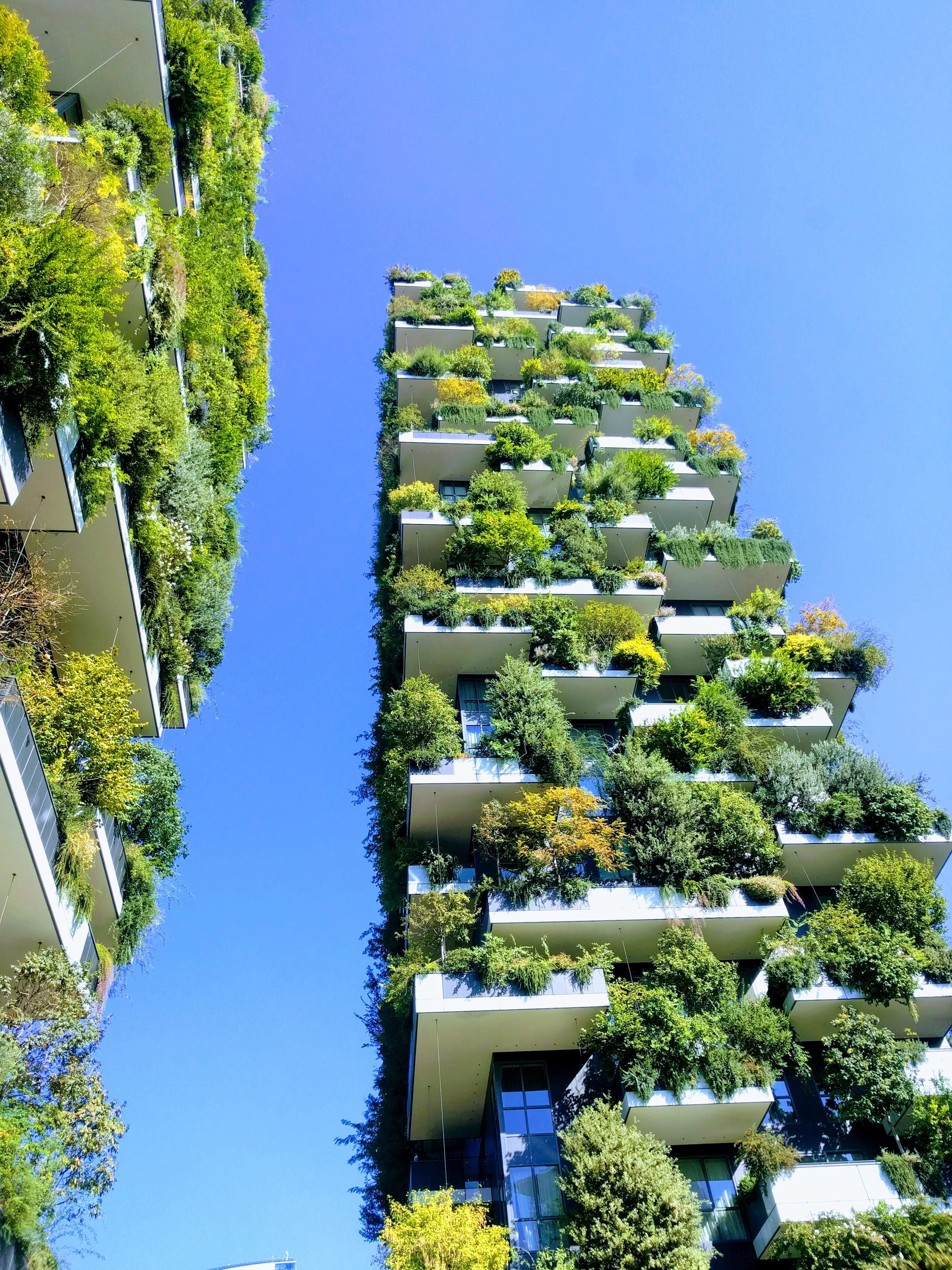 Bosco verticale (vertical forest) Milan Italy [3024x4032