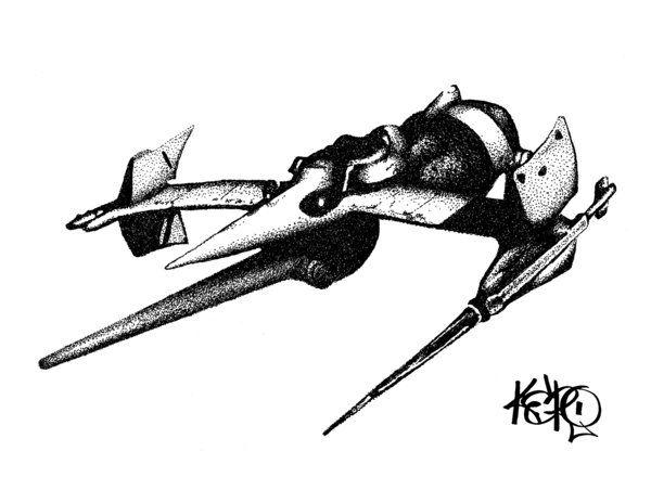 Swordfish II by kevin-roque.deviantart.com on @deviantART