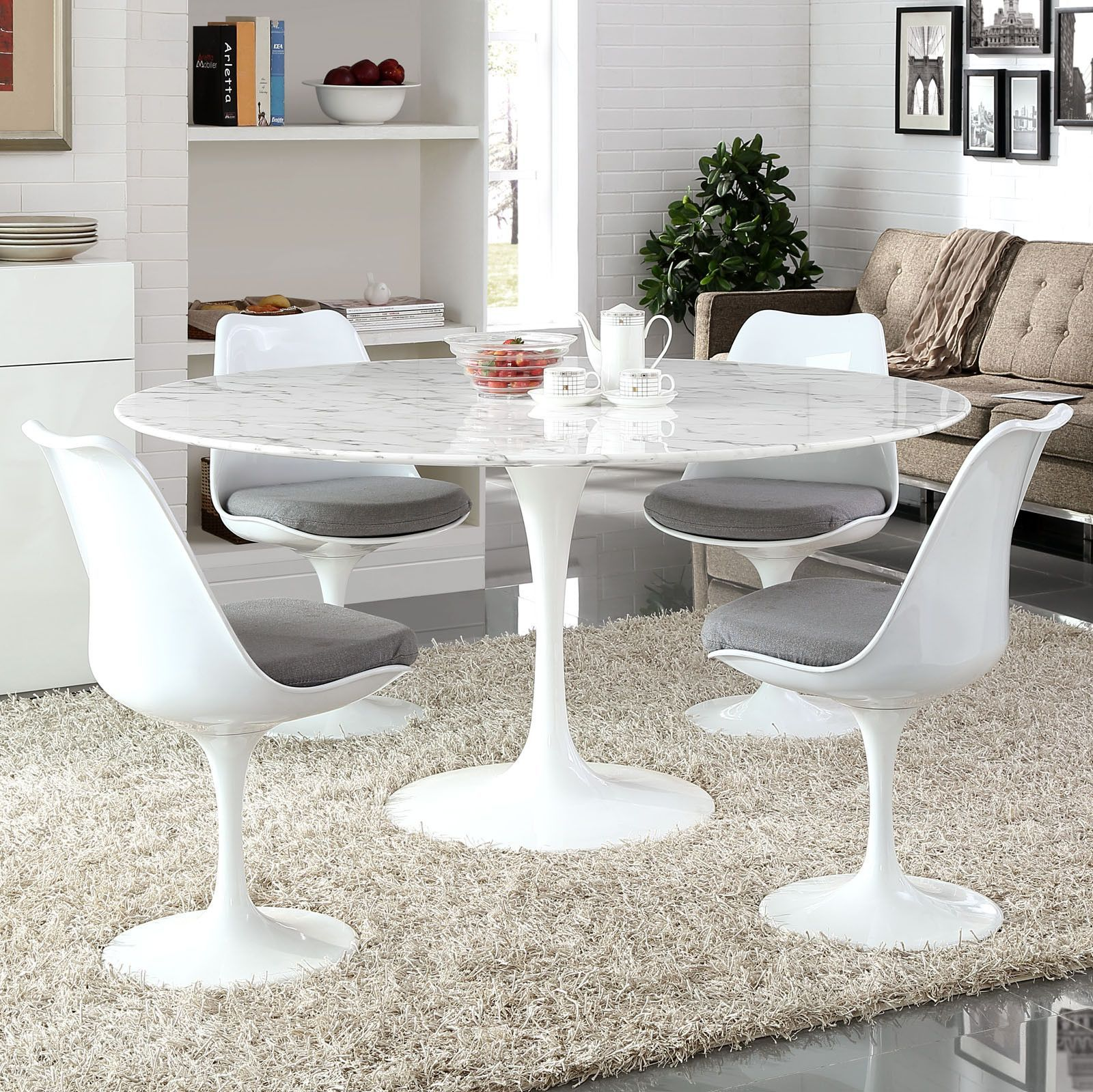 tulip style 60 marble dining table marble dining tables organic