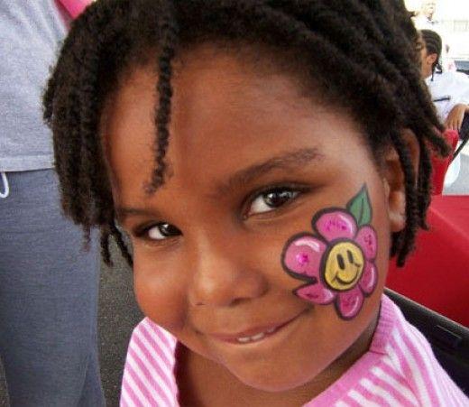 Flower Face Painting For Children Designs Tips And Tutorials Face Painting Easy Easy Face Painting Designs Face Painting Designs