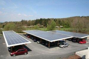 Antaris Solar errichtet zweiten Solar-Carport für Göde Gruppe