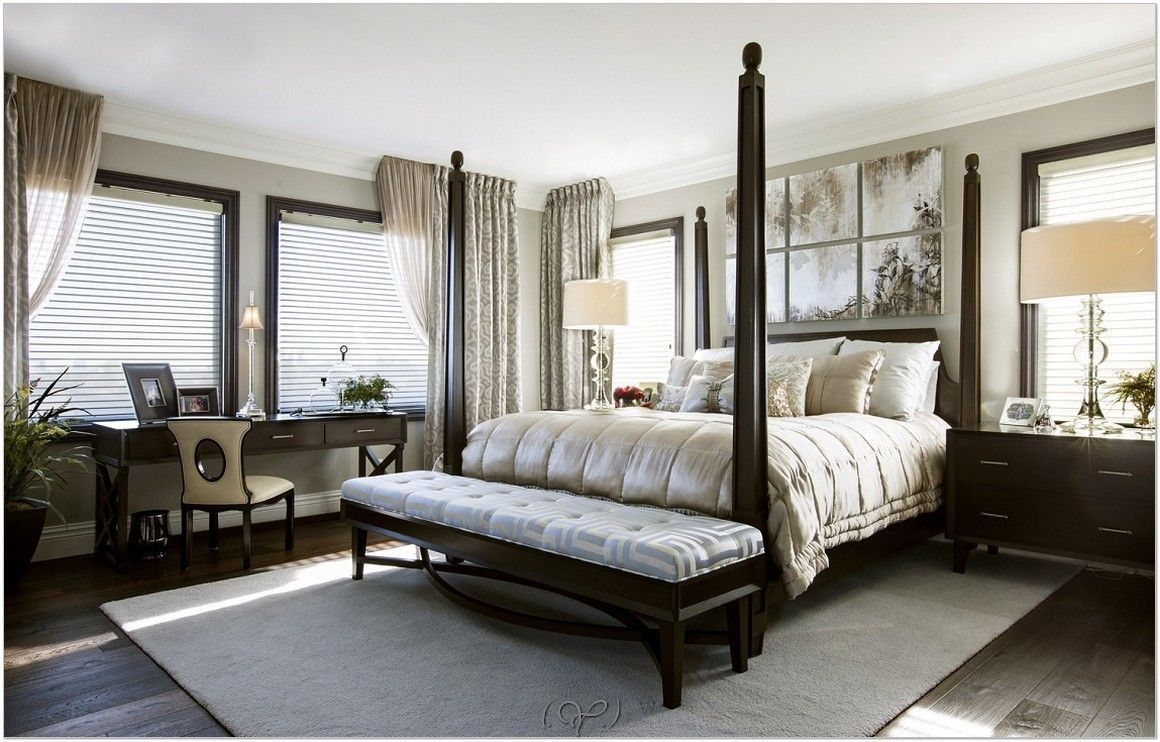 Simple and elegant | Eclectic master bedroom, Luxury ...