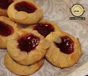 kulleraugen rezept marmelade einfach schnell lecker backen kekse weihnachten plätzchen mandel