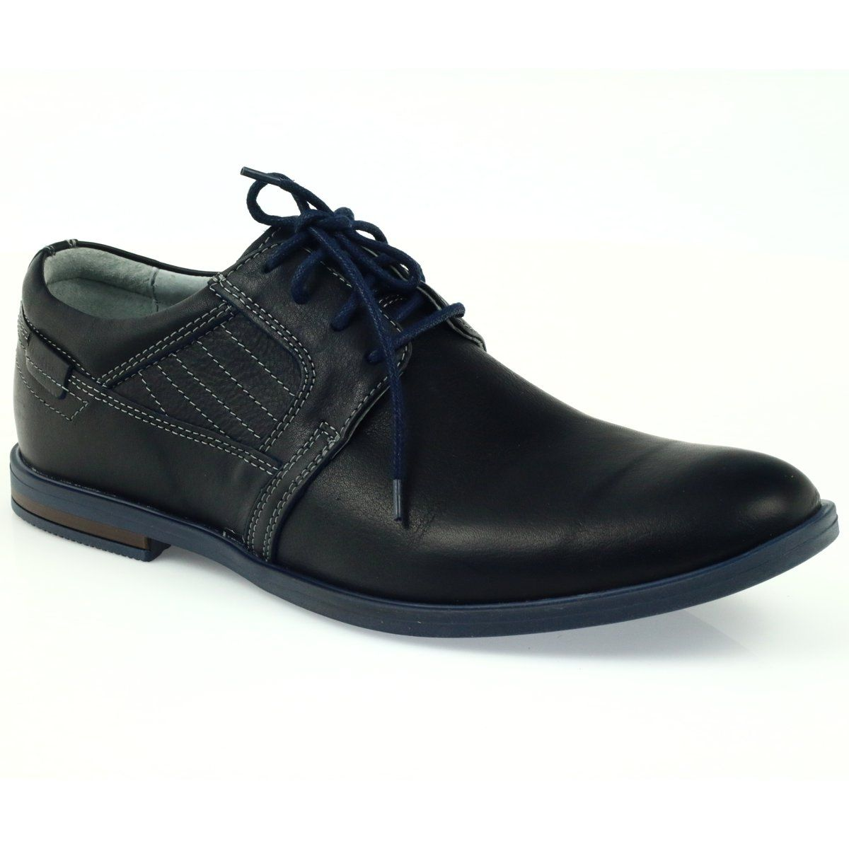 Riko Buty Meskie Polbuty Casualowe 819 Granatowe Shoes Mens Casual Shoes Dress Shoes Men