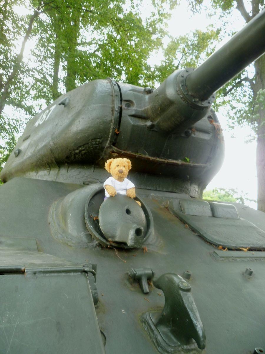 Misiu And T 34 Tank Ii Teddy Bear Tatty Teddy Love Bear Teddy Bear