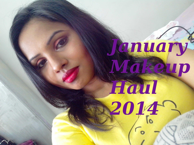 January Makeup Haul 2014  http://youtu.be/AEMKcoC7CIc