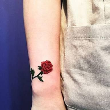 Tattoo Rosa Pequena Pesquisa Google Tatuagem Rosa