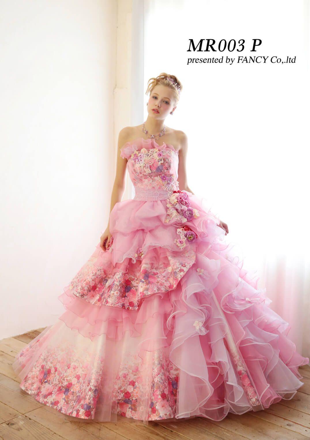 オリジナルドレスブランド「LuLu Merry」のウェディングドレス・カラー ...