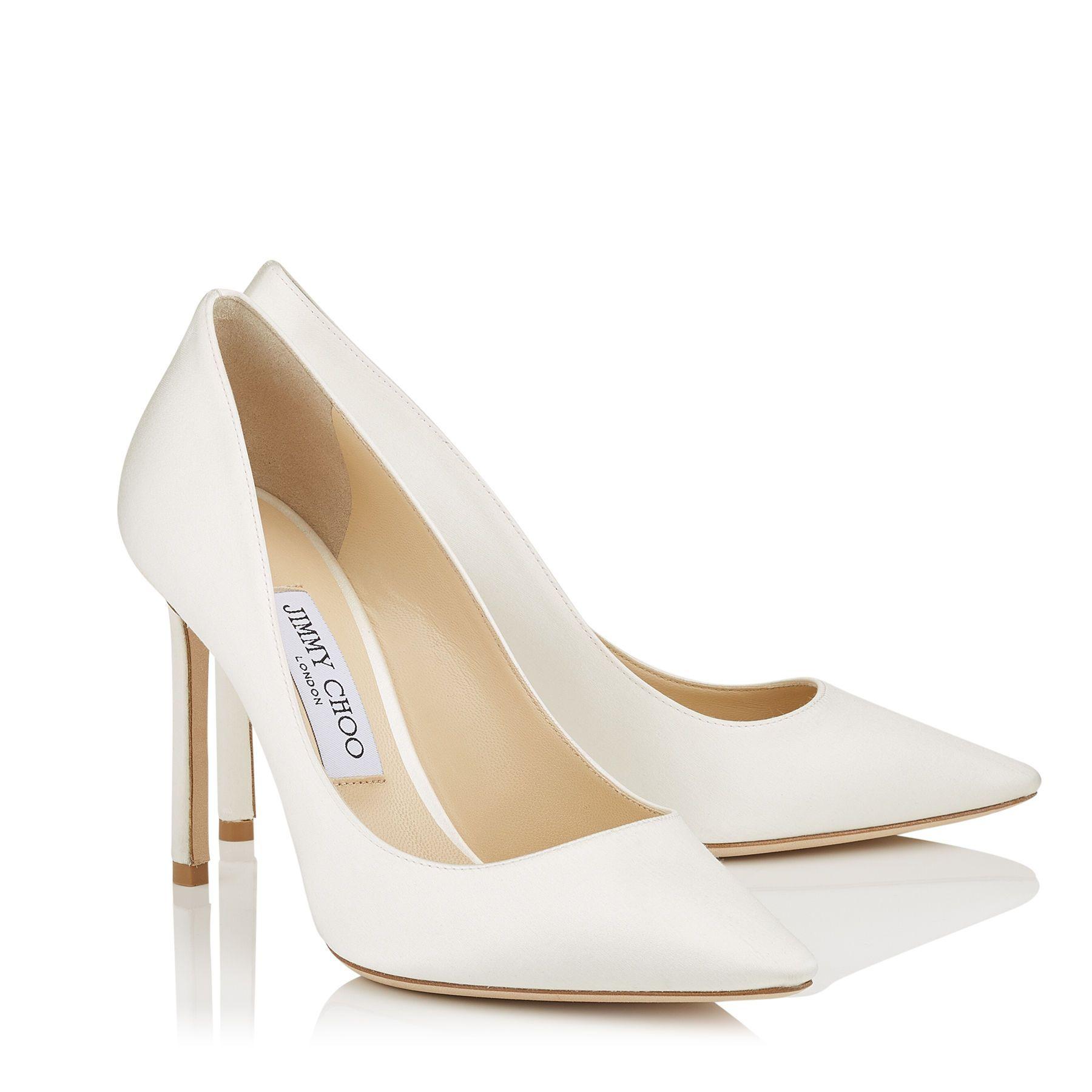 ROMY 100   Wedding shoes white pumps