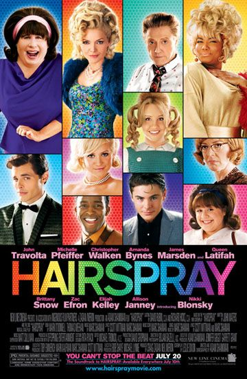 Hairspray 2007 ヘアスプレー 映画 ポスター 映画