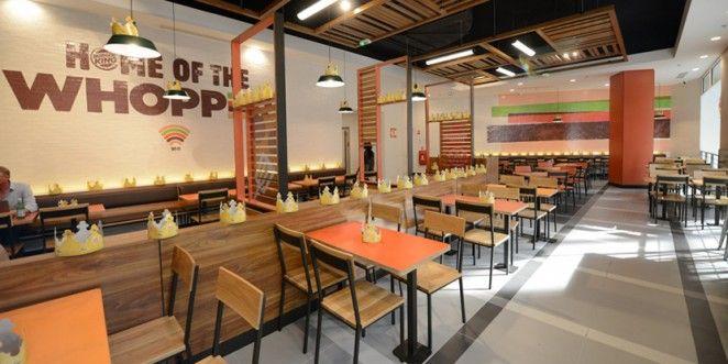 Burger King Launch New Interior Re Design In Paris New Interior