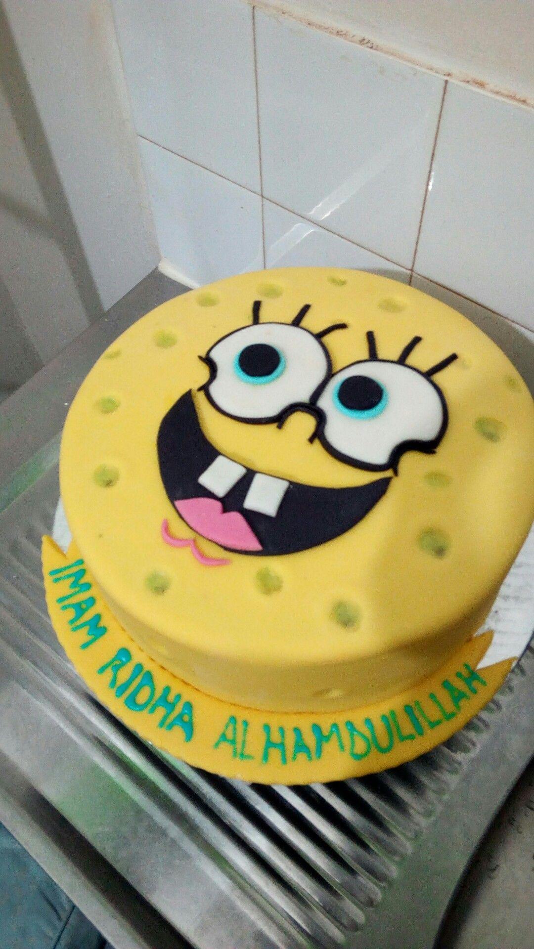 Spongebob Cake Alhamdulillah
