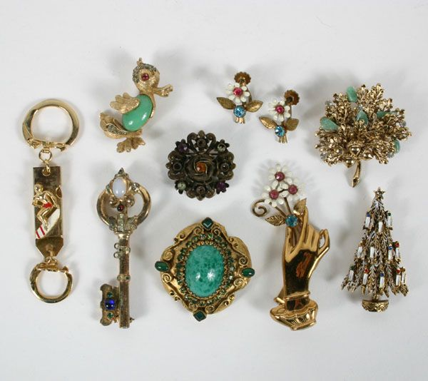 Vintage Jewelry Vintage Costume Jewelry 9pc Coro