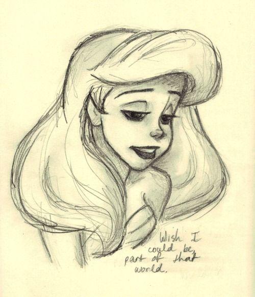 Disney Princess Tumblr Drawings Arte Con Matita Cose Da