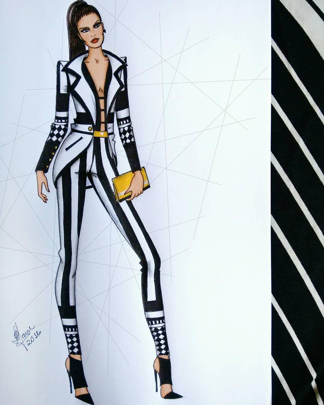 Bom fim de semana  Art  Pinterest  Fashion sketches Fashion