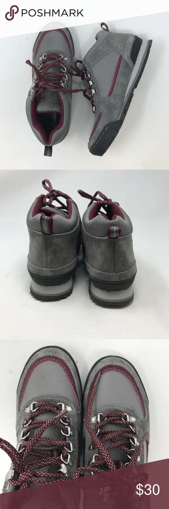 4c6521ac981 Eddie Bauer Grey Women's Hiking Boots Shoes 6.5 Pre-worn in great ...