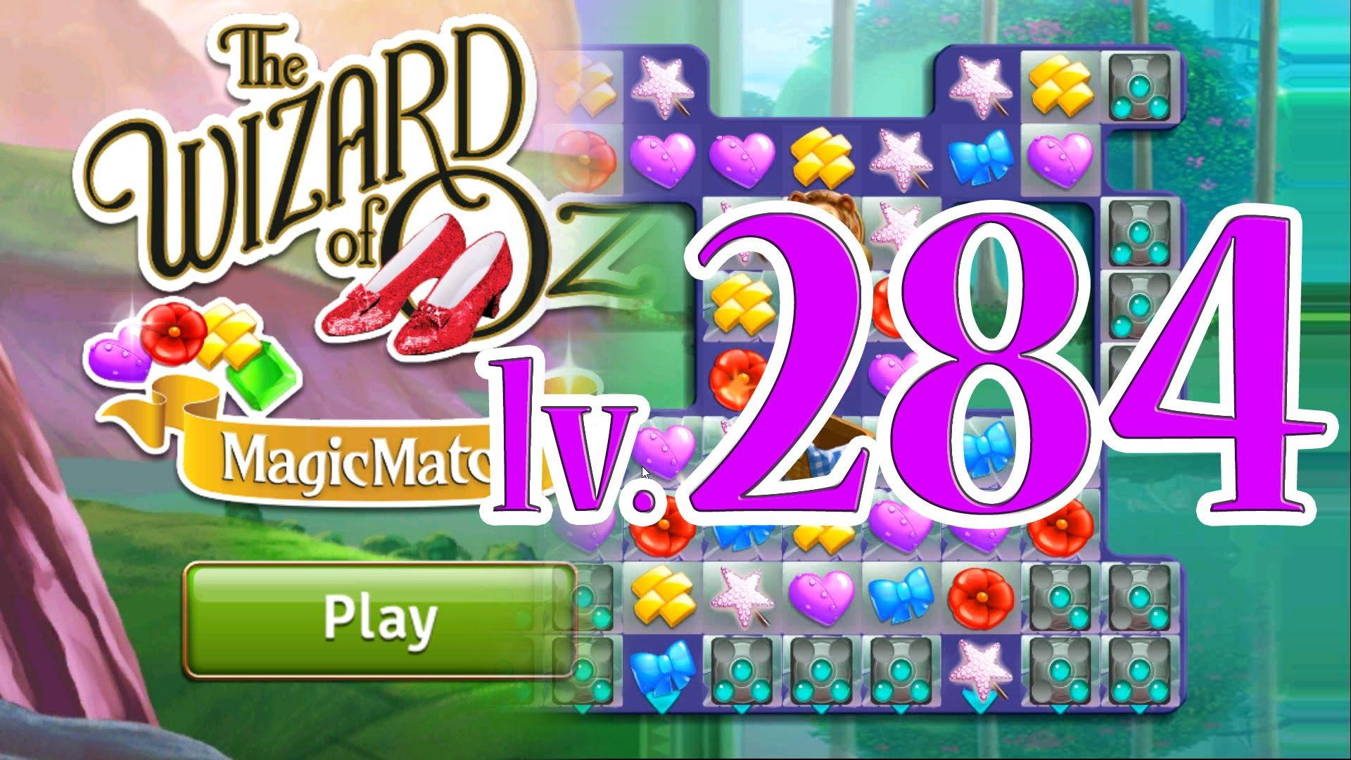 Wizard of Oz: Magic Match - Level 284 (1080/60fps)