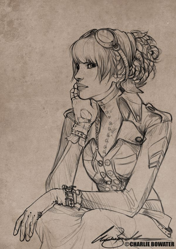 Sketches XI by `Charlie-Bowater on deviantART charlie-bowater.deviantart.com/