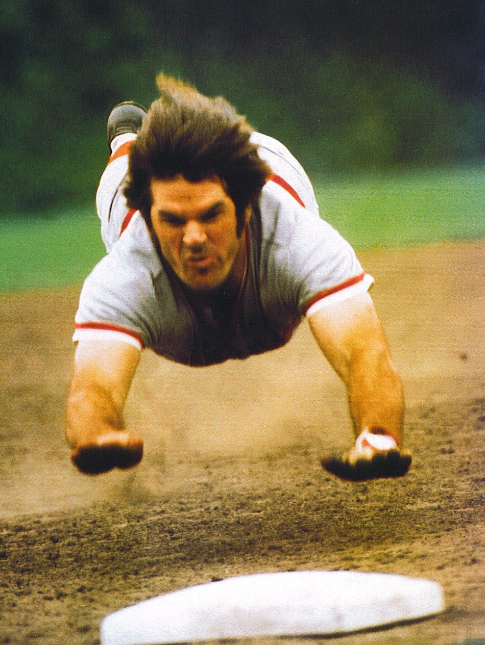 Not The Baseball Pitcher: This Is Pete Rose. Although He Was Kicked Out Of Baseball